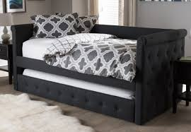 Baxton Studio Shoe Storage by Wholesale Interiors Baxton Studio Marea Daybed With Trundle