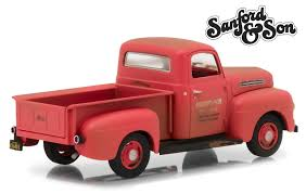 100 Sanford And Son Pickup Truck 1952 Ford F1 Red 19721977 TV Series