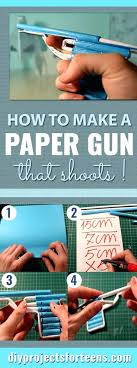Craft Ideas For Teenagers To Make Fun Crafts How A Paper Gun That