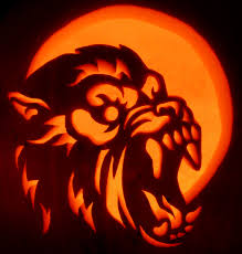 Toothless Pumpkin Carving Patterns by Here U0027s Zombiepumpkins Com U0027s American Werewolf In London On A Real