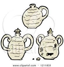Clay Jars Clipart
