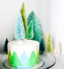 That Being Said This Adorable Little Christmas Cake Is Simple To Make And Goes Perfectly With A Snow Globe Plate Wink
