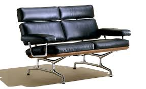 eames 2 seat sofa hivemodern com