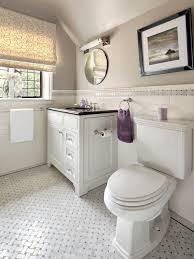 lovely basketweave bathroom floor tile on home interior redesign