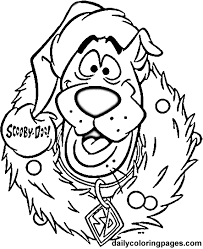 Disney Christmas Coloring Pages 07