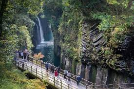 Gorge by Takachiho Gorge Sightseeing Spots Kyushu Tourism Information