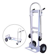Buy OrangeA Hand Truck Dolly 2-In-1 Aluminum Hand Truck Jr 2 To 4 ...