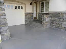 Outdoor Walkway With Garage Flooring