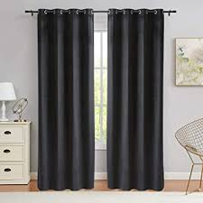 py home sports schwarze samt vorhänge 244 6 cm lang verdunkelnd fenstervorhang vorhänge für wohnzimmer 1 panel 132 2 x 244 6 cm schwarz
