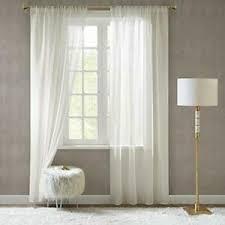 details zu scm gardinen schals in leinen optik leinenstruktur vorhänge schlafzimmer
