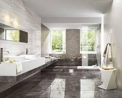 Modern Granite Flooring In Bathroom