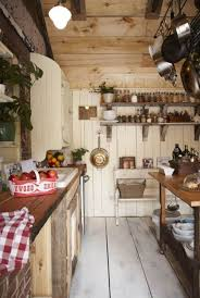 French Cottage Style Kitchens KitchensRustic Country KitchensGalley