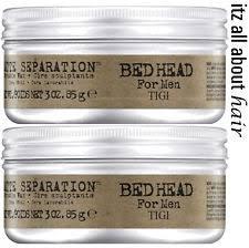 tigi bed head matte separation wax for men ebay