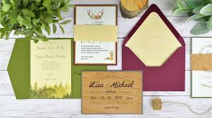 How To Diy Rustic Wedding Invitations With Real