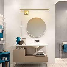 wrming messing led spiegelleuchte badezimmer schminklicht