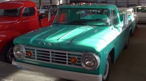 1966 Dodge D100 Pickup 318 V8 15xxx Original Miles - YouTube