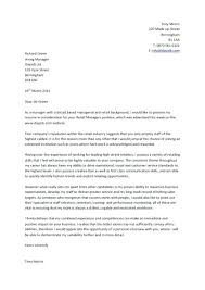 Covers Letters Examples Resume Cover Letter Example Sample