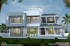 100 Modern House Cost 2892 Sqft Modern House With Construction Cost Kerala Home Design