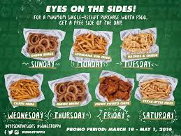 Wingstop Coupon – COUPON Wingstop Singapore Home Facebook 2018 Roseville Visitor Guide Coupon Book By Redflagdeals Dns Solar Christmas Lights Coupon Code Black Friday Score Freebies At These Retailers 10 Off Promo Code Reddit December 2019 For Wingstop Florence Italy Outlet Shopping Wwwtellwingstopcom Guest Sasfaction Survey Food Coupons Burger King Etc Dog Pawty Promo Wing Zone Wingstop Promo Code Free Specials Nov Printable Michaels Build A Bear