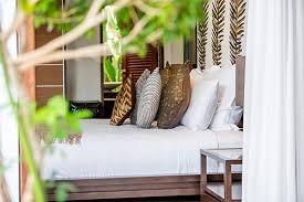 Villa Chi Samui At Lotus Samui Master Bedroom Villa Chi Samui Bedroom Two Sneak View Photos Mae Nam Koh