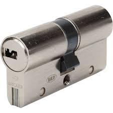 barillet securite porte entree cylindre de serrure débrayable sur numéro l 30 40 mm bricard