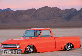 1967 Chevy C10 - Chevy 383 Stroker Engine - Truckin' Magazine 6772 Chevy Truck Seat Cover Ricks Custom Upholstery 1967 C10 22 Inch Rims Truckin Magazine Are You Fast And Furious Enough To Buy This 67 383 Stroker Engine Chevrolet Ck 10 For Sale Classiccarscom Cc909965 1966 Short Bed C14 V8 66 65 64 Hot Rod Rat Billet Alinum 5 Vane Ac Vents With Black Bezel 72 Interior My Stepside Ricekiller White Trucks Fresh Snow On 24rims In Eccentric Mike Partykas Slamd Mag The 1970 Page What Problems To Look In Chevygmc Pickups
