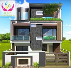 100 Design Of Modern House Construction In Indore BK7 Construction