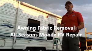 How To Replace RV Awning Fabric Yourself - Donald McAdams - YouTube Rv Awnings Online 45 Best Custom Images On Pinterest The Shade How To Replace Awning Fabric Yourself Donald Mcadams Youtube Awning Fabric Rv Cafree Replacement Black Shale Replace A Of Colorado Slide Topper Model Sok Dometic Only Parts Diagram Power Lawrahetcom For Rv Replacement Bromame Patio Lift Handle Chrissmith Great Skins Fabrics Used Pull Behind Campers Ideas On Full Size Of