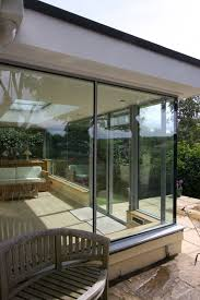 100 Glass Extention Structural Glass To With Glass To Glass Corner Junction To Glass
