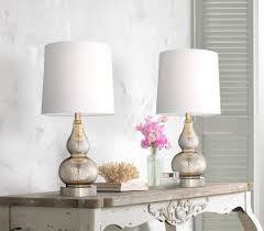 Ashley Furniture Tiffany Lamps by Set Of 2 Castine Mercury Glass Table Lamps With Usb Port Style