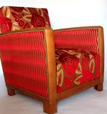les tissus d ameublement pour tapisser les fauteuils ées 30 et
