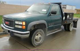 1996 GMC Sierra 3500 SLE Flatbed Pickup Truck | Item D4792 |... 1996 Gmc Jimmy 4dr For Sale In Garden City Id Stock S23604 Sierra 3500 Sle Flatbed Pickup Truck Item D4792 Sierra 1500 Image 10 Gmc Ac Compressor Beautiful New Pressor A C 1gtec14wxtz545060 Green C15 On Sale In 6000 Cab Chassis Truck For Auction Or Lease C1500 12 Ton Pu 2wd 50l Mfi Ohv 8cyl Repair 2500 Photos Specs News Radka Cars Blog Topkick Tpi Topkick Salvage Hudson Co 29869 Zebulon Johns Whewell C7000