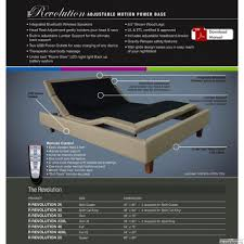 rize queen revolution fully electric adjustable bed base special