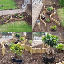 Cut Boulder Used As Water Feature In A Small Space Pebbles And The