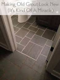 discolored grout look like new grout house and household