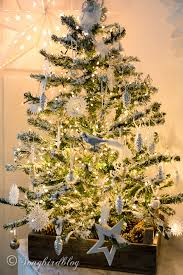 My DIY Flocked Christmas Tree