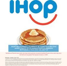 Ihop Halloween Free Pancakes 2014 by Pinned January 4th All You Can Eat Pancakes Is Back At Ihop