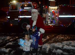Hitching A Ride From A Fanwood Fire Truck, Santa Claus Comes To ... Parade Of Lights Banff Blog 2 On The Road Christmas Electric Light Parade Fire Truck With Youtube Acvities Santa Mesa Arizona Facebook Montesano Awash Color At Festival Lights The On Firetruck Awesome Mexico Highway Crew Uses Firetruck Ladder To String Photo Gallery Nov 26 2017 112617 Arrow Totowa Residents Gather For Annual Tree Lighting Passaic Valley Musical Ft Sparky Dog Youtube Rensselaer Adventures 2015