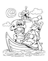 Garfields Halloween Adventure Book by Garfield Coloring Pages Getcoloringpages Com