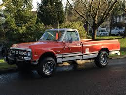 100 1970s Chevy Truck 1970 Chevrolet C10 4x4 Pickup 2DR Reg Cab 48L Engine 63k Original