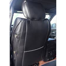 100 Dodge Truck Seat Covers PU Leather For Ram 1500 2500 20092018 Black W