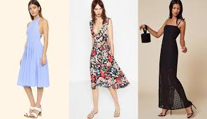 12 Semi Formal Dresses You Can Wear All Through Wedding Season