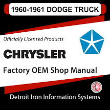 Detroit Iron® DCDC-30 - 1960-1961 Dodge Truck Factory OEM Shop ... 1961 Dodge Truck Fargo Cadian Repair Shop Manual Original Supplement This Great Looking W300 Power Wagon Recently Sold On Ebay The Classic Pickup Buyers Guide Drive Platform Information And Photos Momentcar Junkyarddoll Mewastgmachine Dagwood At4 40 Year Old Truck Looks To Still Be I Flickr Bushwacker Dw For Sale Near Cadillac Michigan 49601 Mopar Parts Group 7 Used File1961 100 1976jpg Wikipedia C1000 Dump Vintage Trucks Pinterest