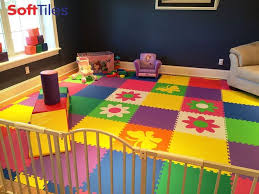 soft tiles for playroom