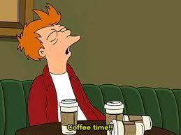 COFFEE TIME Caffeine GIF