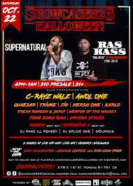 Eventbrite Halloween Bar Crawl Boston by Showcase626 Halloween W Supernatural U0026 Ras Kass By Showcase626