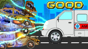 100 Garbage Truck Youtube Good VS Evil Ambulance Against The Evil Police Car Garbage Truck