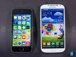 s for Apple iPhone 5s vs Samsung Galaxy S4