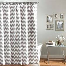 Grey And White Chevron Curtains 96 by 25 X 96 Inch Blackout Lined Grey Zig Zag Grommet Curtains Two