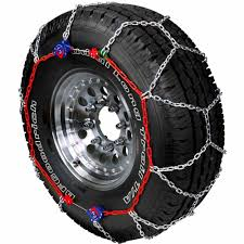 100 Snow Chains For Trucks Autotrac Light Truck And SUV SelfTightening Tire